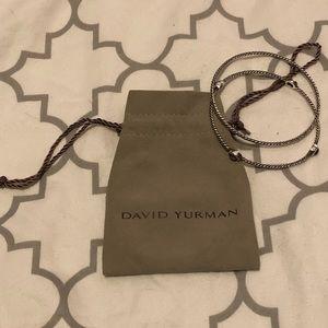 David Yurman Cable Classic Bangle Bracelet Set